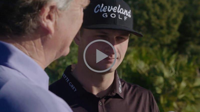 Jamie Sadlowski und Cameron Champ zeigen was als Longhitter mit dem neuen Srixon Z-Star XV Golfball alles möglich ist. (Foto: Youtube.com/SrixonGolf)