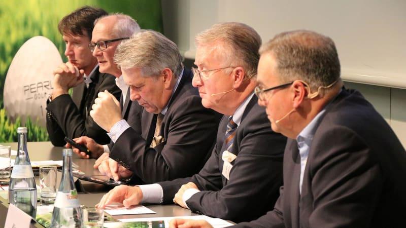 Claus Kobold (3.v.r.), Präsident des Deutschen Golf Verbandes. (Foto: Deutscher Golf Verband)