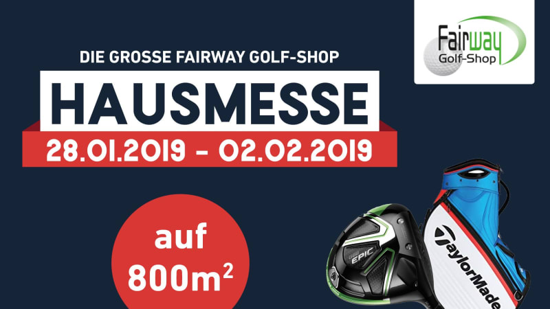 Die Fairway Golf-Shop Messe in Pulheim. (Foto: Golf Post)