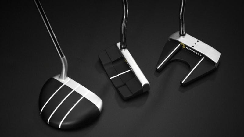 Der Schaft steht im Mittelpunkt der diesjährigen Puttermodelle von Odyssey. (Foto: Odyssey)