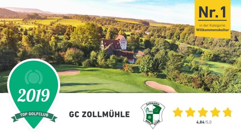 Der GC Zollmühle überzeugte in Sachen Willkommenskultur und Preis-Leistungs-Verhältnis beim 1. Golf Post Community Award. (Foto: Golf Post)