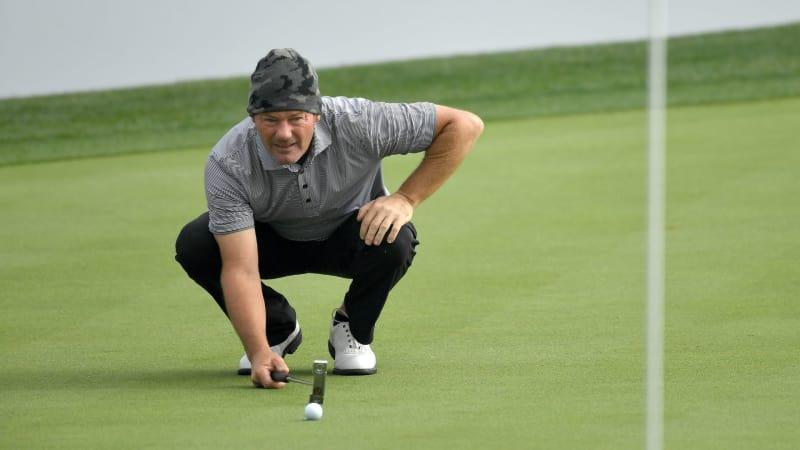 Alex Cejka hält sich bei der Desert Classic auf der PGA Tour in einer guten Position. (Foto: Getty)