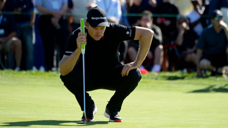 Justin Rose bei der Farmers Insurance Open 2019. (Foto: Getty)