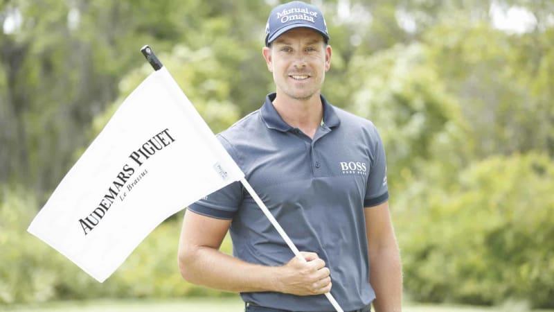 Henrik Stenson stand Golf Post bei seinem Partner Audemars Piguet Rede und Antwort. (Foto: Audemars Piguet)