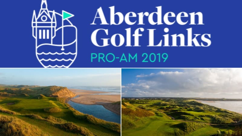 Das Aberdeen Golf Links ProAm findet Anfang Mai in Schottland statt. (Fotos: Aberdeen Golf Links, David J. Whyte, Trump International Scotland)