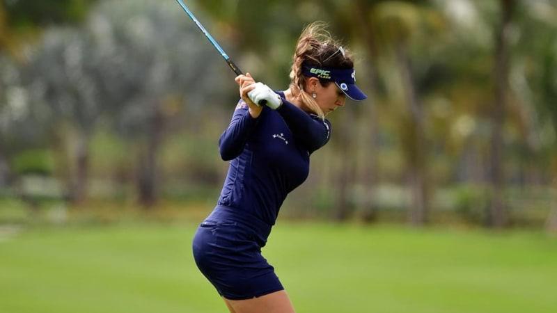 Sandra Gal ist eine von zwei deutschen Teilnehmerinnen des Honda LPGA Thailand auf der LPGA Tour. (Foto: Instagram @thesandragal )