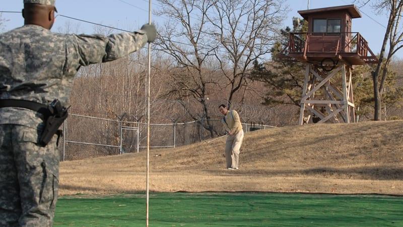 Das tödlichste Golfloch der Welt im Camp Bonifas. (Foto: US Army, Edward N. Johnson)