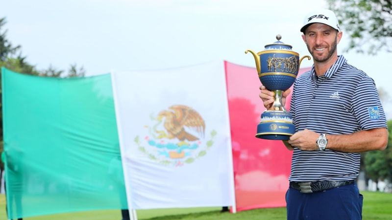 Dustin Johnson gewinnt die World Golf Championship- Mexico Championship. (Foto: Getty)