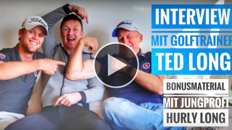 Dominik Müller-Lingelbach (Mitte) interviewt Ted Long (rechts) und dessen Sohn Hurly (links). (Foto: YouTube/Dominik Müller-Lingelbach)