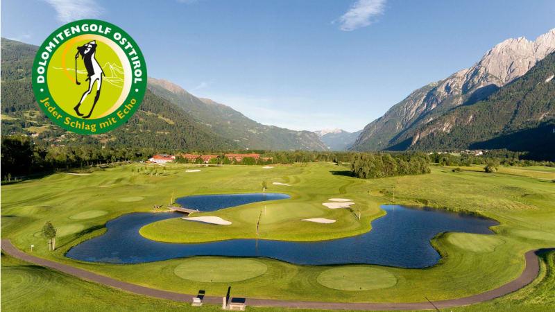 Die 36-Loch-Meisterschaftsanlage des Dolomitengolf-Resort am Fuße der Lienzer Dolomiten. (Foto: Dolomitengolf-Resort)