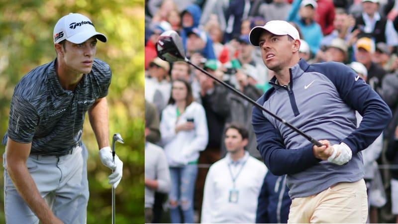 Rory McIlroy und Guido Migliozzi siegen beide mit TaylorMade Schlägern im Bag. (Foto: Getty)
