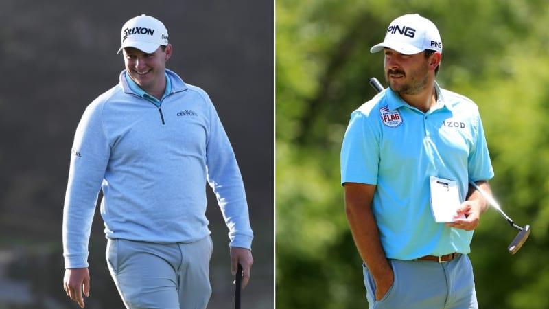 Sowohl Sepp Straka (li.), als auch Stephan Jäger starten gut in die Corales Championship auf der PGA Tour. (Foto: Getty)