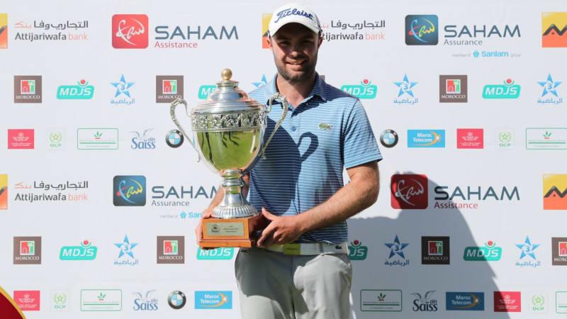 Edouard Dubois mit seinem ersten Titel seit acht Jahren. (Foto: Pro Golf Tour)
