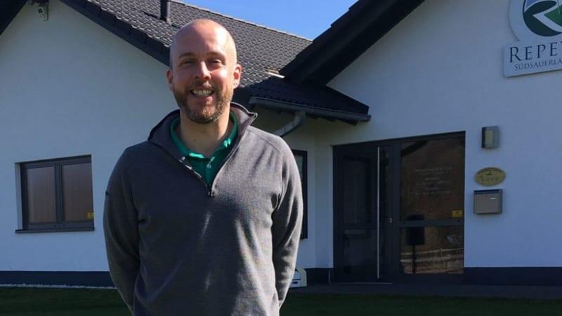 Der GC Repetal stellt seinen neuen PGA-Pro Jan Oehler vor. (Bildquelle: GC Repetal)