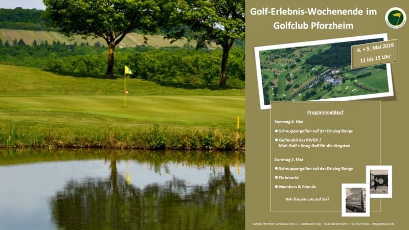 Golf-Neulinge aufgepasst! Der GC Pforzheim bietet Anfang Mai, ein interessantes Golferlebnis-Wochenende an. (Bildquelle: GC Pforzheim)