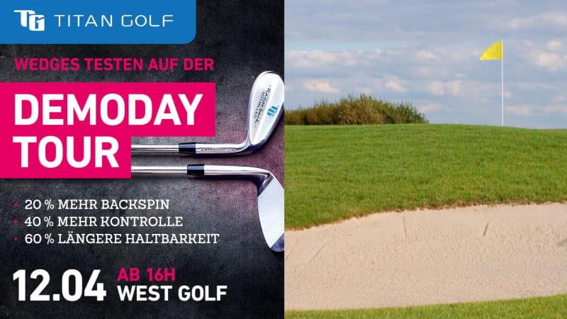 Titan Golf macht mit seinem Demo Day bei Westgolf Halt. (Bildquelle: Westgolf)
