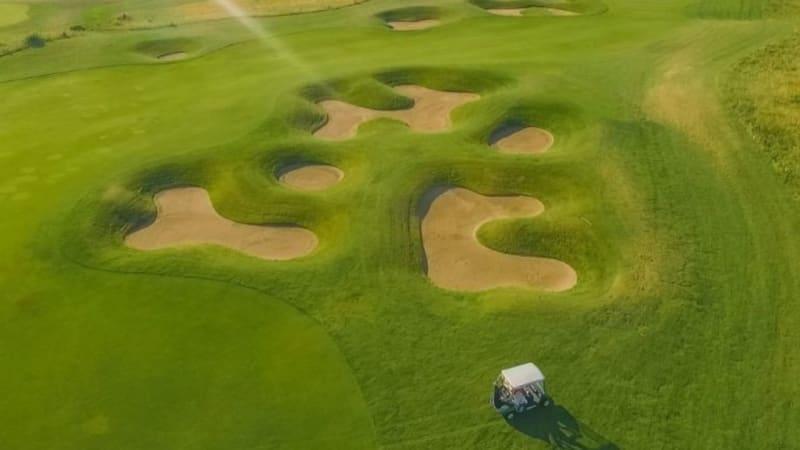 Der Golfpark Schloss Wilkendorf darf, ab Ende März, wieder mit Carts befahren werden. (Quelle: GC Schloss Wilkendorf)