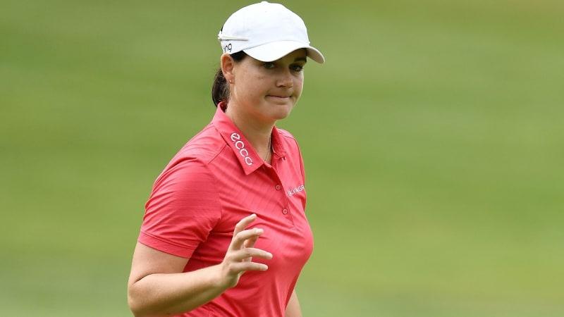 Caro Masson wird beim Bank of Hope Founders Cup auf der LPGA Tour geteilte 18. (Foto: Getty)