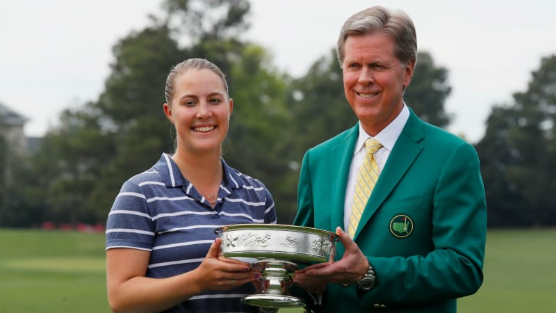Jennifer Kupcho gewinnt die erste Augusta National Women's Amateur im Augusta National Golf Club. (Foto: Getty)