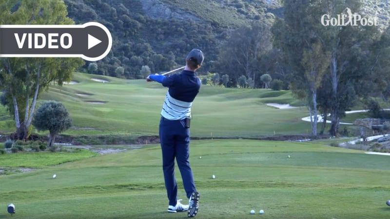 Mit diesem Golftraining verbessern Sie Ihren Abschwung. (Foto: Screenshot/YouTube)