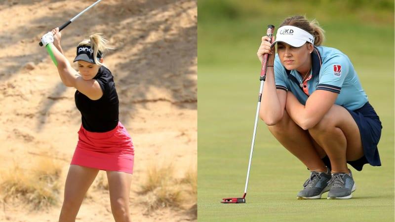 Laura Fünfstück und Olivia Cowan schaffen den Sprung ins Wochenende der Jordan Mixed Open. (Foto: Getty)
