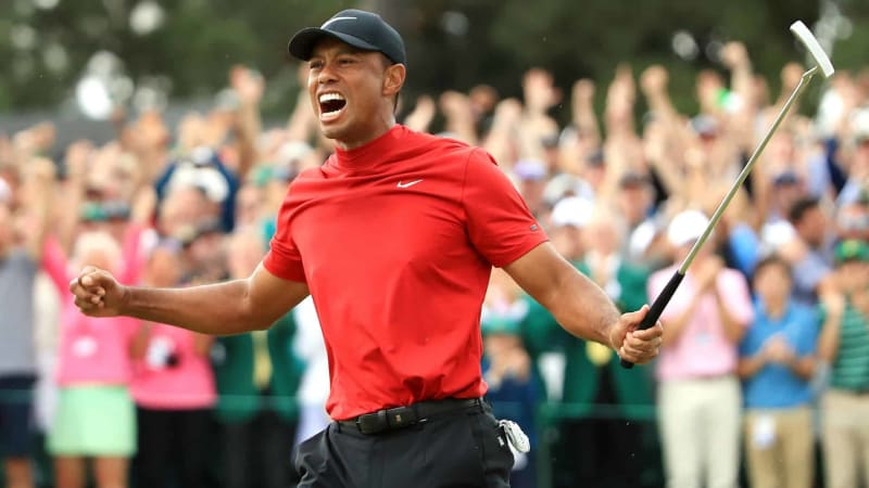 Tiger Woods schafft Historisches und sichert sich beim US Masters 2019 seinen 15. Major-Titel. (Foto: Getty)