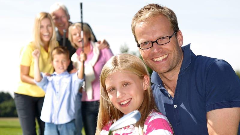 Golf ist ein Sport für die ganze Familie (Foto: Deutscher Golf Verband)