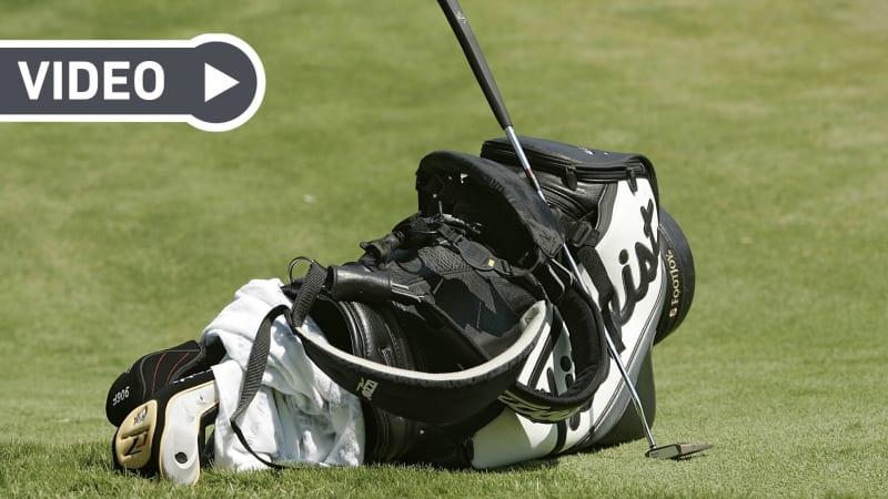 Braucht man wirklich alle 14 Golfschläger in seinem Bag? Clubfixx weiß wie man unnötig an Ballast spart. (Bildquelle: Getty)