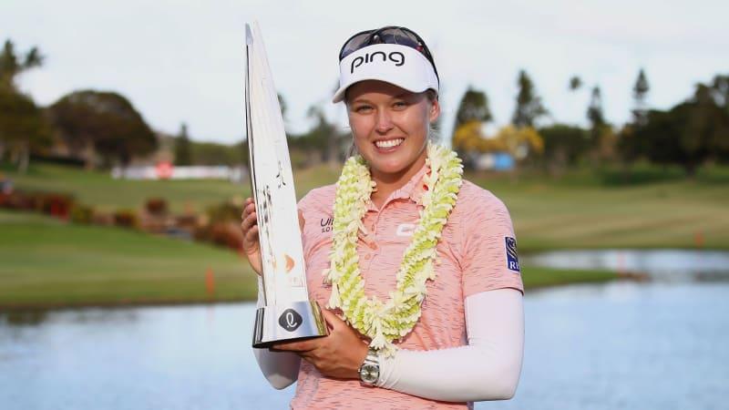 Brooke Henderson gewinnt die Lotte Championship auf der LPGA Tour. (Foto: Getty)