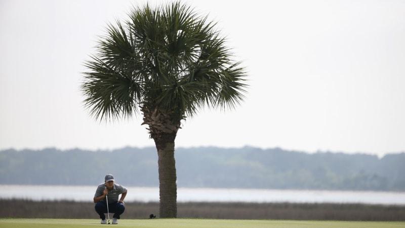 Auf Hilton Head Island kämpfen die Spieler der PGA Tour um den Titel (Foto: Getty)
