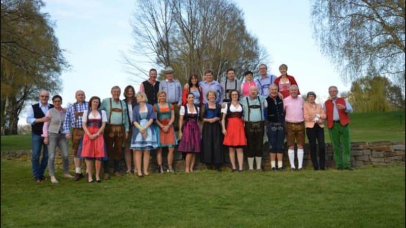 Der traditioneller Wiesenhof-Vierer fand dieses Jahr im Schneegestöber statt. (Bildquelle: GC Rhein-Sieg)