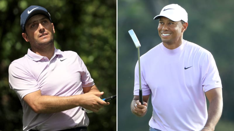 Francesco Molinari geht als Führender vor Tiger Woods in die Finalrunde des US Masters 2019. (Foto: Getty)