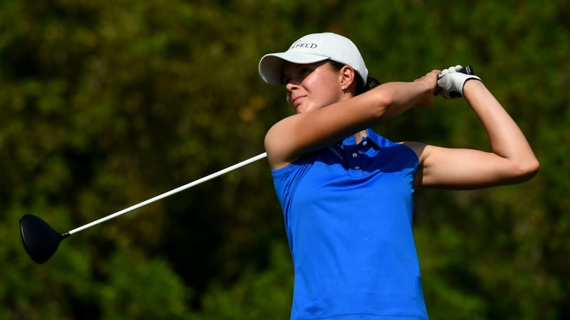 Esther Henseleit in geteilter Führung auf der Ladies European Tour. (Foto: Getty)