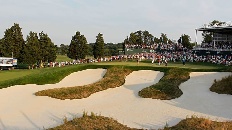 Die PGA Championship 2019 auf dem Bethpage Black Course. (Foto: Getty)