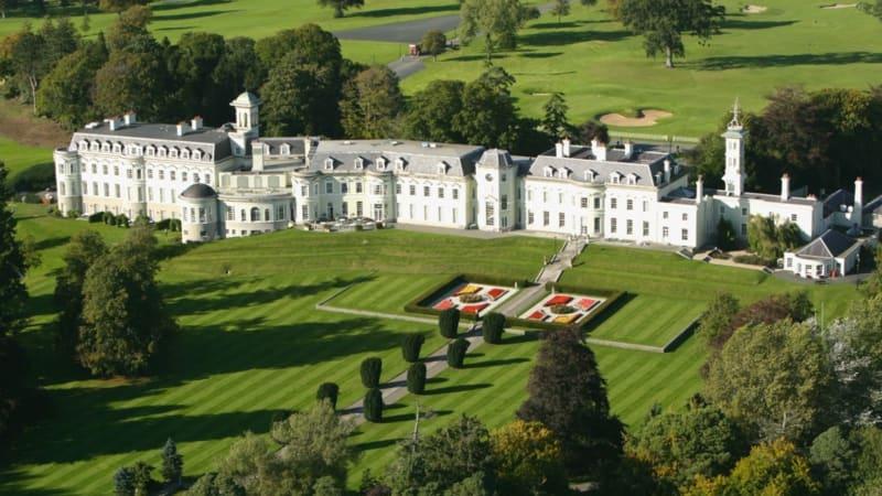Der herrschaftliche Landsitz des K Clubs, einer der romantischsten Golfdestinationen. (Foto: The K Club)
