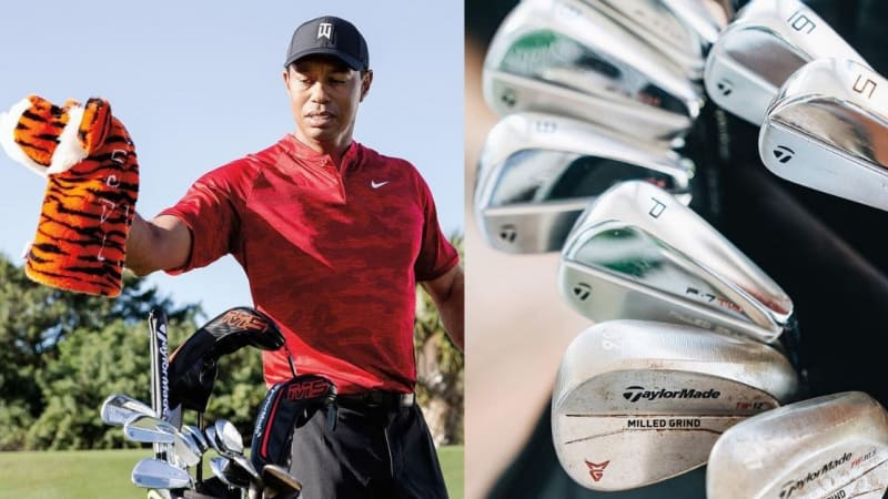 Martin Kaymer hat Tiger Woods' TaylorMade P-7TW Eisen im Bag. (Foto: Instagram.com/@taylormadegolf)