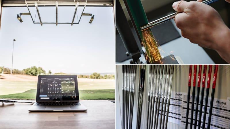 Clubfixx bietet neben Schläger-Fitting auch eine ausführliche Equipmentberatung durch. (Foto: Clubfixx)