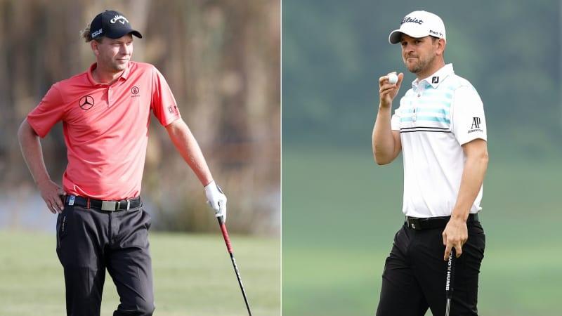Beide können den Moving Day auf der European Tour nutzen: Marcel Siem und Bernd Wiesberger. (Foto: Getty)