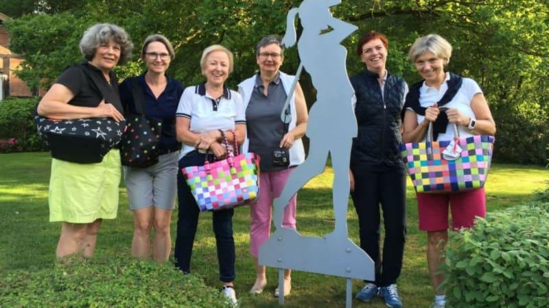 Strahlende Siegerinnen beim ersten Samstagsladies-Turnier des GC Peckeloh. (Foto: GC Peckeloh)