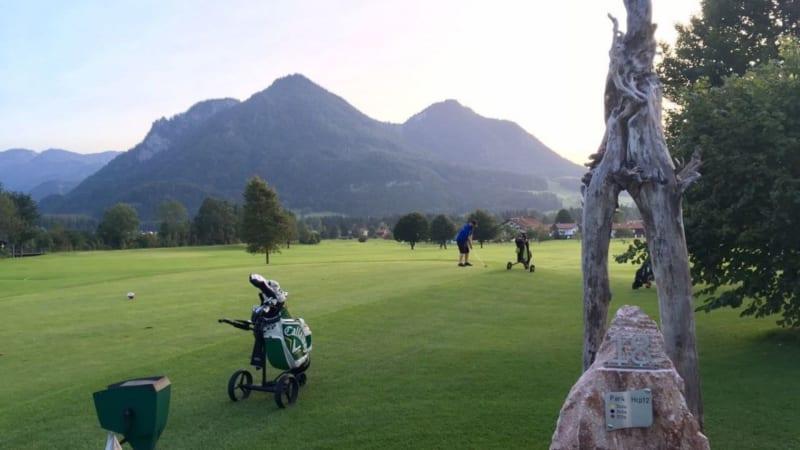 Beim GC Ruhpolding wird viel Wert auf die Pflege der Grüns gelegt. (Foto: Golf Post/ Florian Richter)