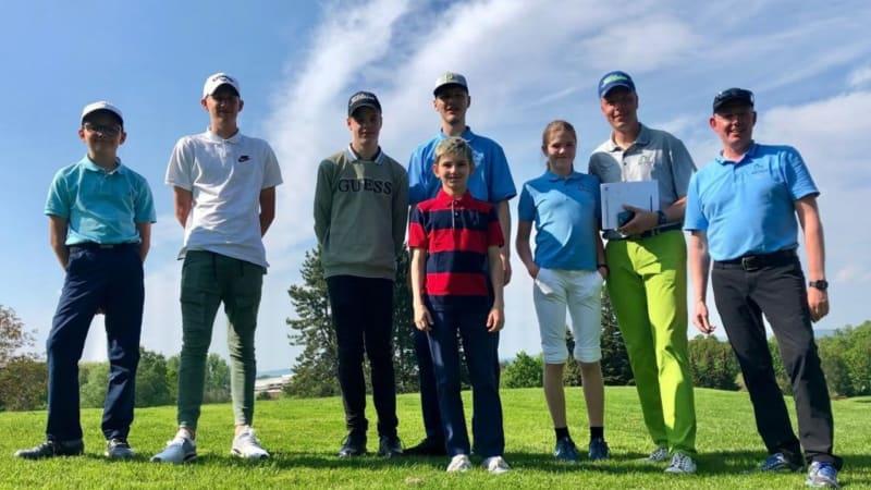 Das Team der Juniorleague des GC Wolfsburg freut sich über die Teilnahme. (Foto: GC Wolfsburg)