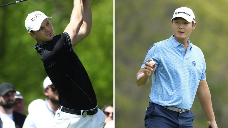 Martin Kaymer und Danny Lee in Runde 1 bei der PGA Championship 2019. (Foto: Getty)