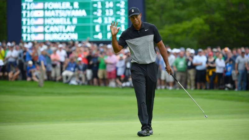 Tiger Woods scheitert bei der PGA Championship am Cut. (Foto: Getty)