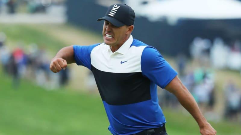 Koepka feiert seinen zweiten Triumph bei der PGA Championship (Foto: Getty)