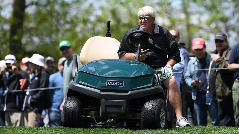 Nicht allen gefällt, dass John Daly bei der PGA Championship mit einem Cart antreten darf. (Foto: Getty)