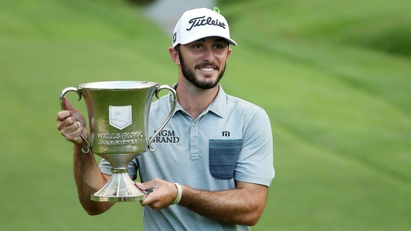Max Homa gewinnt die Wells Fargo Championship auf der PGA Tour. (Foto: Getty)