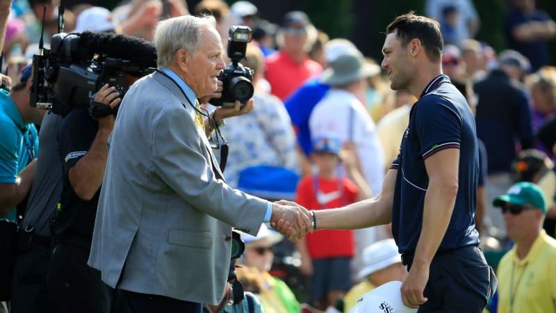 Jack Nicklaus zollt Martin Kaymer Respekt für seine Leistung beim Memorial Tournament (Foto: Getty)