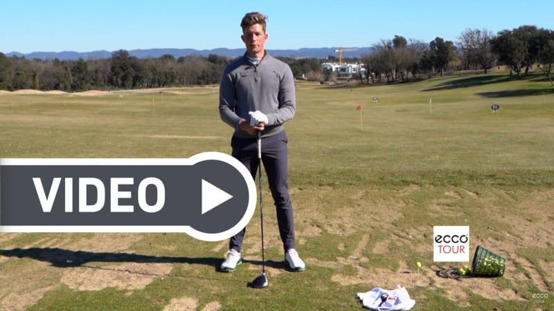 Mit Tricks und Übungen der Ecco Tour Pros können Sie Ihr Golfspiel verbessern. (Foto: Ecco Golf)