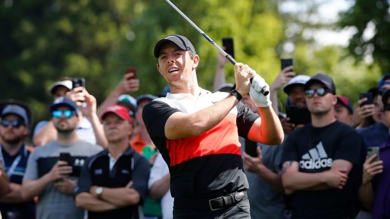 Rory McIlroy auf dem geteilten ersten Platz der RBC Canadian Open der PGA Tour. (Foto: Getty)