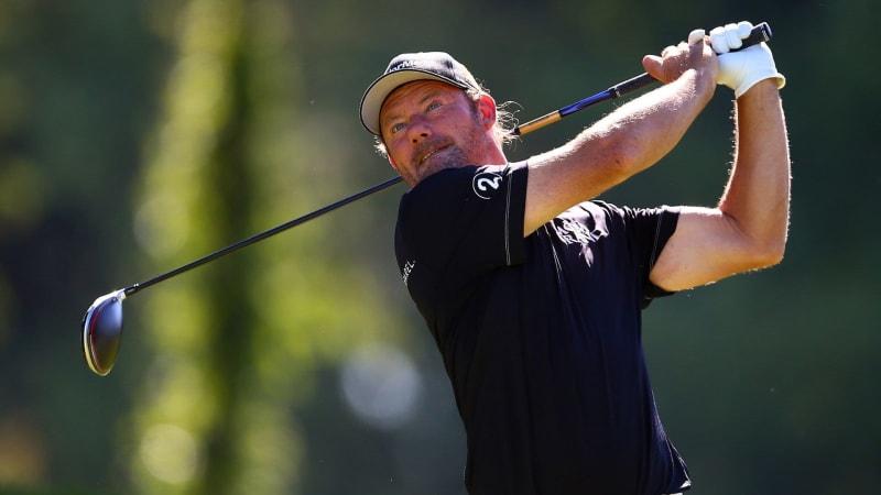 Alex Cejka mittendrin bei der Travelers Championship 2019 der PGA Tour. (Foto: Getty)